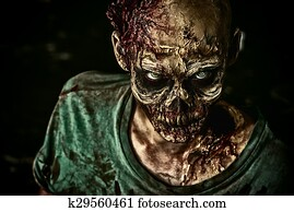 toothy zombie