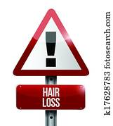 Signs of thinning hair male