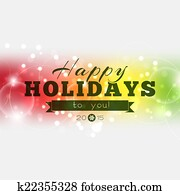 Happy Holidays to you 2015
