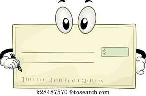 Mascot Blank Check