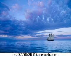 two-mast schooner