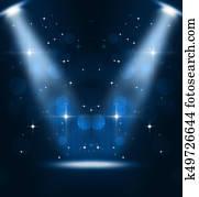Music Stage Spotlights