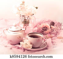 Tea Party in pink