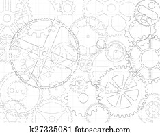 Gears And Cogs Blueprint