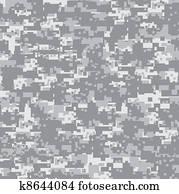 Desert camouflage seamless pattern.