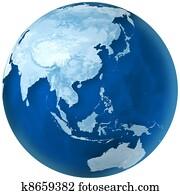 Blue Earth Asia and Australia