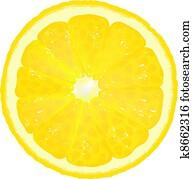 Lemon Segment With Juice
