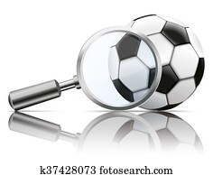 Loupe Mirror Football