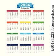 2024 Vectors | Our Top 327 2024 Clip Art | Fotosearch