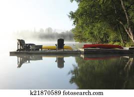 Misty Morning - Haliburton, Ontario, Canada