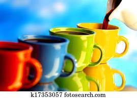 auslaufender kaffee