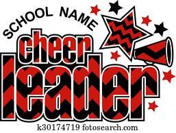 cheerleader chevron design
