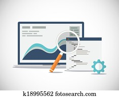 Website SEO analysis and process fl