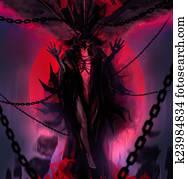 Chain demon goddess