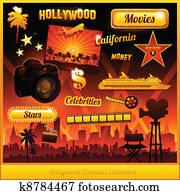 Hollywood cinema movie elements