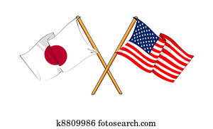 America and Japan alliance and friendship
