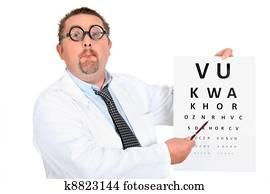 Banque de Photo - oculiste, à, une, diagramme oeil k10519362 ... 2f8c068ec020