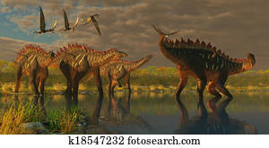Miragaia Dinosaurs