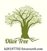 Olive oil design.