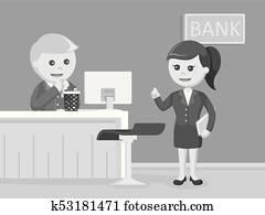 Bank Teller Clipart Royalty Free 871 bank teller clip art