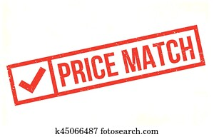 Price Match rubber stamp