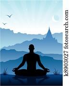 meditation, bergen