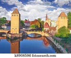 Old Strasbourg. France
