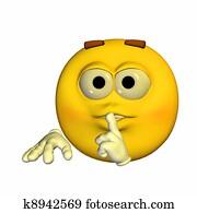 Secrecy Emoticon