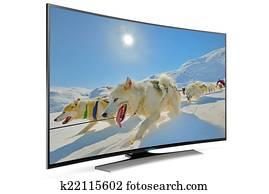curve smart tv
