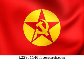 Stock Illustrations of Flag of Oromo Liberation Front