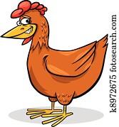 Poulet cliparts et illustrations 73 364 poulet la recherche de clip arts et dessins du commerce - Dessin de poulet roti ...