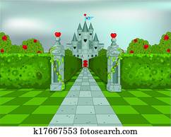 Palace of Queen of Hearts