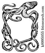 Giant Octopus frame