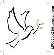 Dove Peace Vector
