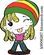 reggae, künstler