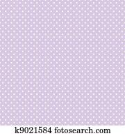 seamless, polkamuster, pastell, lavendel