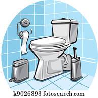 toilet, wc
