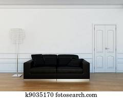 furniture in the living room