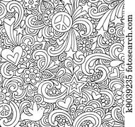 Notebook Doodles Seamless Pattern