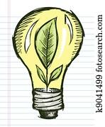 clip art karikatur gl hbirne k5259277 suche clipart poster illustrationen zeichnungen und. Black Bedroom Furniture Sets. Home Design Ideas