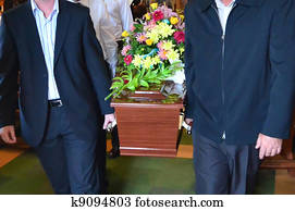 Illustration Photos - Funeral Ceremony