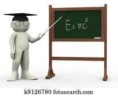 3d teacher and einsteins theory