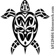 clipart maori tribal tortue tatouage style k1345425 recherchez des clip arts des. Black Bedroom Furniture Sets. Home Design Ideas