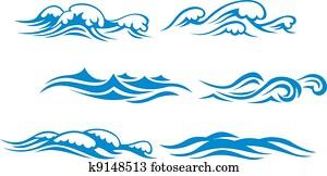 Wave symbols