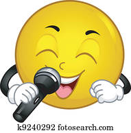 Singing Smiley