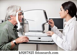 Eye Examination Through Visual Field Test