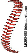 baseball, spitzen, oder, schlagball, spitzen, vektor, bild