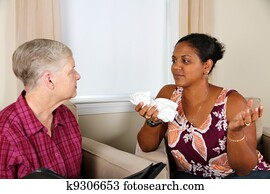 Woman in Counseling