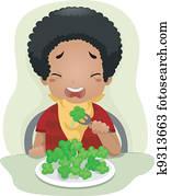 Vegetable-hating Kid