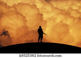 Conceptual Illustration of War